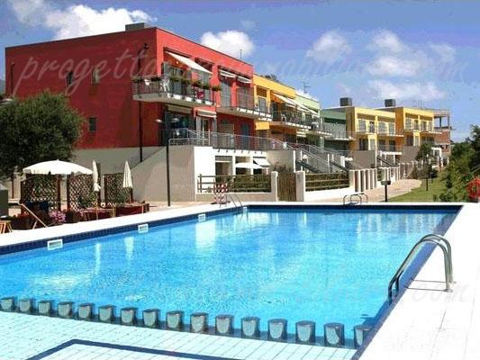 Bilocale piscina Arenzano